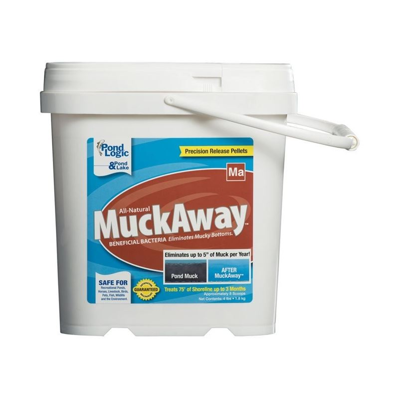 Muck Away Pellets, 4 lbs