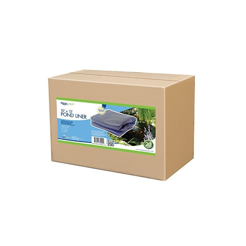 Boxed EPDM Pond and Stream Liner 15