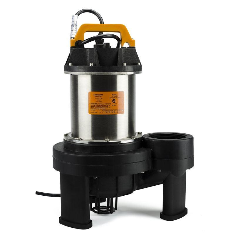 Aquascape 10000 Submersible Pump for Ponds, Skimme