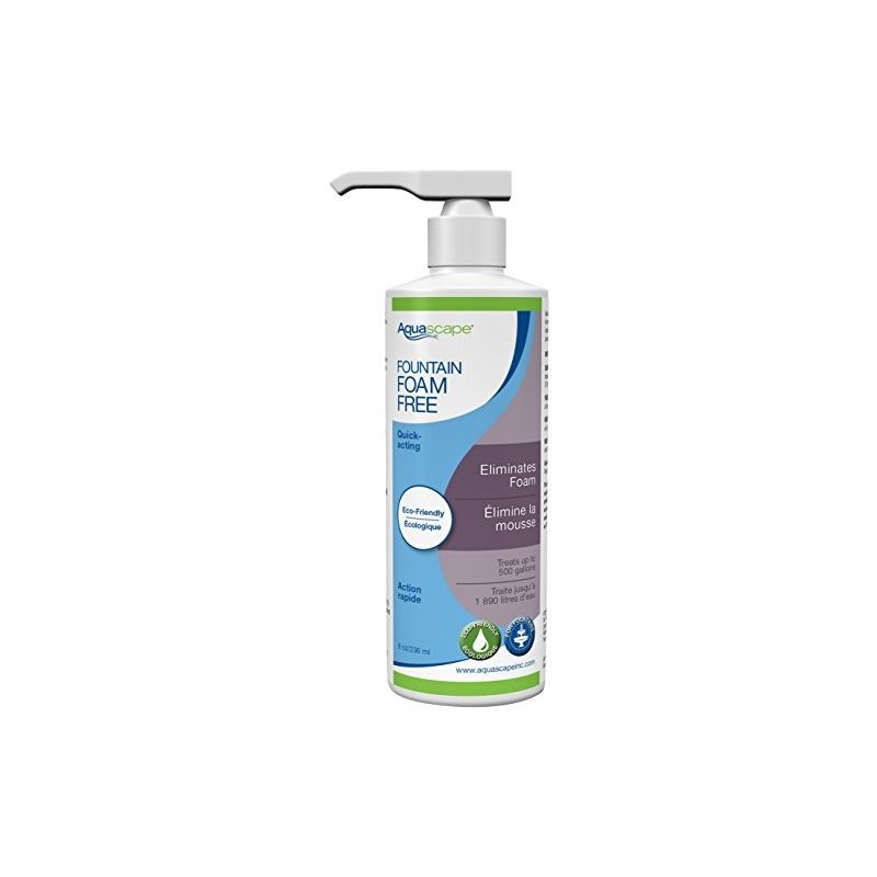 Call Us 888 713 7771 Aquascape 98908 Fountain Foam Free Water Treatment 8 Ounce